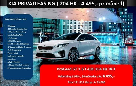 Kia ProCeed T-GDi GT DCT 1,6