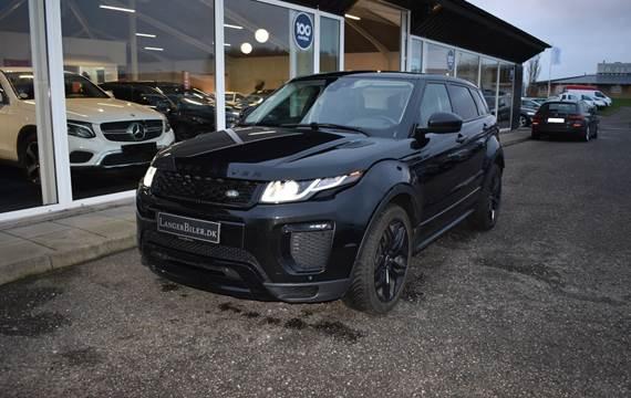 Land Rover Range Rover evoque TD4 180 SE Dynamic aut. Van 2,0
