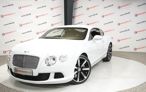 Bentley Continental GT W12 aut. 6,0
