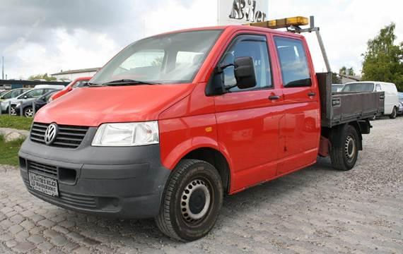 VW Transporter 2,5 TDi 130 Db.Kab m/lad