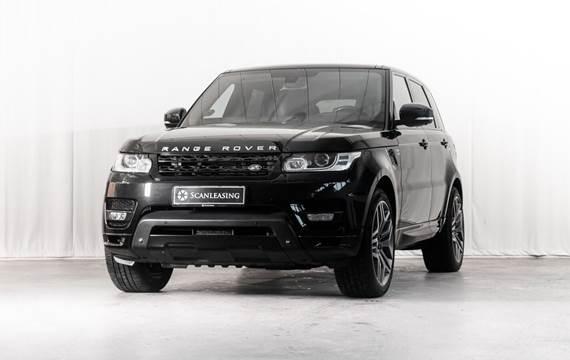 Land Rover Range Rover sport 5,0 SCV8 Autobiography aut.