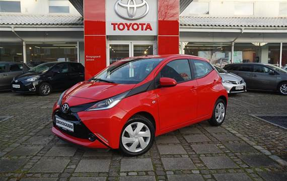 Toyota Aygo 1,0 VVT-I X-Play + Touch  5d