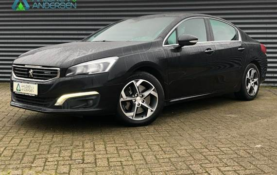 Peugeot 508 BlueHDi 180 Allure EAT6 2,0