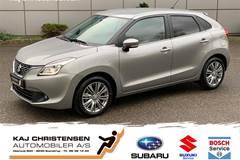 Suzuki Baleno Dualjet Exclusive CVT  5d Aut. 1,2