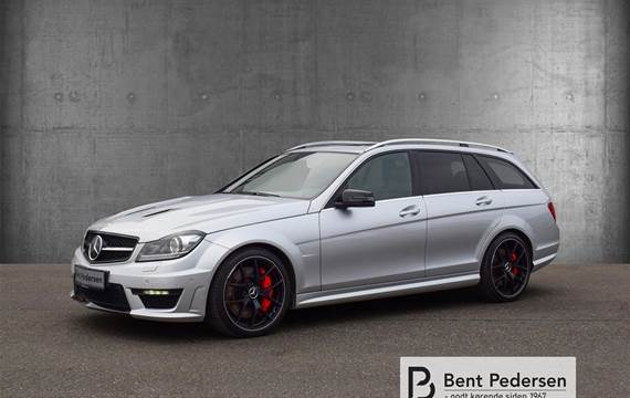 Mercedes C63 AMG 6,2 T  Edition 507 AMG Speedshift  Stc 7g Aut.