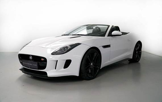 Jaguar F-Type 5,0 S/C S Convertible aut.