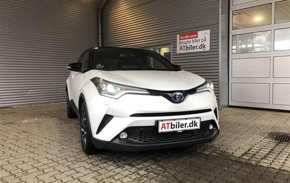 Toyota C-HR 1,8 B/EL Premium Selected Bi-tone Multidrive S  5d Aut.