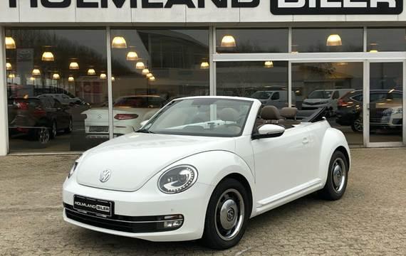 VW The Beetle 1,4 TSi 160 Design Cabriolet DSG