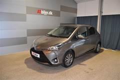 Toyota Yaris 1,5 B/EL H2 Premium E-CVT  5d Trinl. Gear