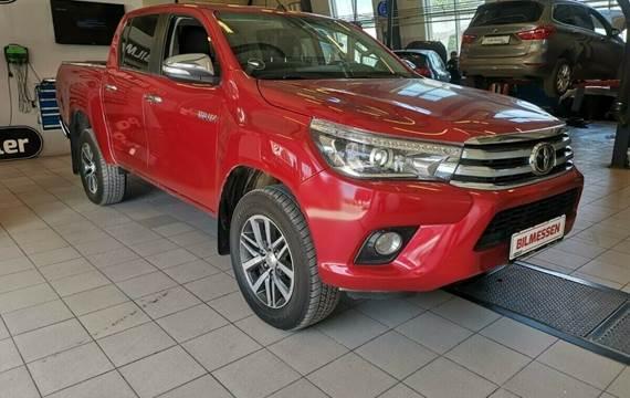 Toyota HiLux 2,4 D-4D 150 T3 Db.Cab 4x4