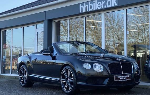 Bentley Continental GT 4,0 V8 Convertible aut.