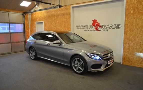 Mercedes C250 d 2,2 AMG Line stc. aut.