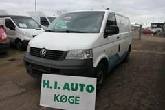 VW Transporter 1,9 TDi 85 Kassevogn kort
