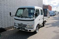 Toyota Dyna 100 3,0 D-4D Db.Cab m/trælad