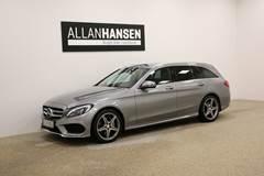 Mercedes C200 d 2,2 AMG Line stc. aut.