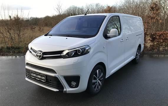 Toyota ProAce 2,0 Long  D Comfort One Safety Sense Dobb. skydedør, bagdør m/ruder  Van 6g