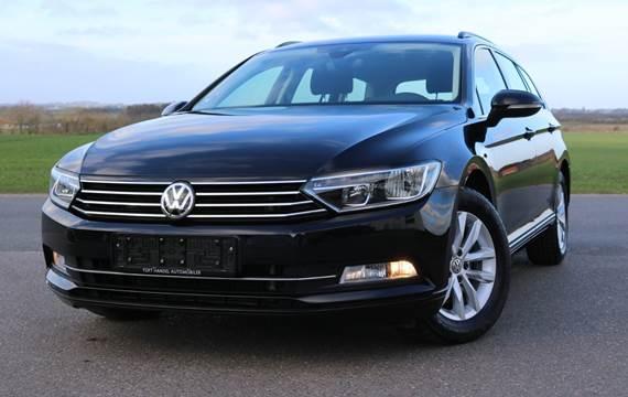 VW Passat 2,0 TDi 150 Comfortl. Vari. DSG
