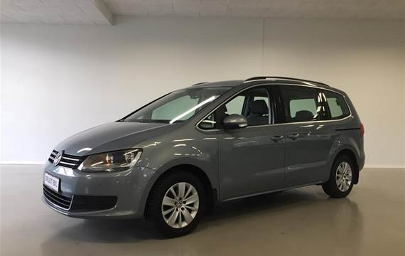 VW Sharan 2,0 BlueMotion TDI DPF Trendline DSG  6g Aut.