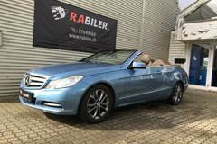 Mercedes E250 2,2 CDi Avantgarde Cabriolet BE