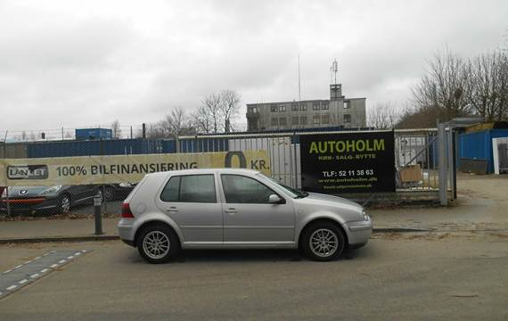 VW Golf IV 2,0 Highline