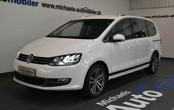 VW Sharan 2,0 TDi 140 Highline DSG BMT 7prs