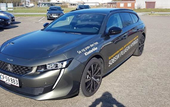 Peugeot 508 1,6 SW  PureTech GT Line EAT8 start/stop  Stc 8g Aut.