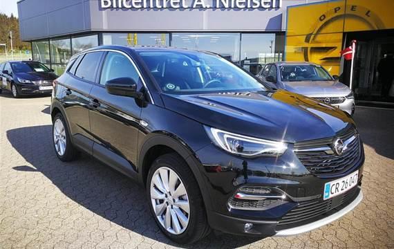 Opel Grandland X 2,0 CDTI Exclusive Start/Stop  5d 8g Aut.