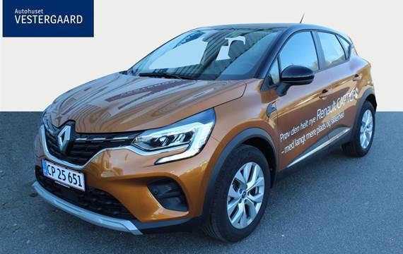 Renault Captur 1,3 TCE GPF Zen EDC  5d 7g Aut.