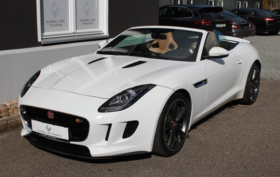 Jaguar F-Type 3,0 S/C S Convertible aut.