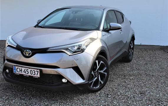 Toyota C-HR 1,8 B/EL C-LUB Selected + Premium Multidrive S  5d Aut.
