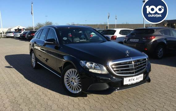 Mercedes C250 d 2,2 Exclusive stc. aut.