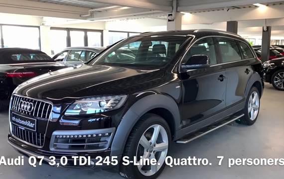 Audi Q7 3,0 TDi 245 S-line quat. Tiptr. 7p