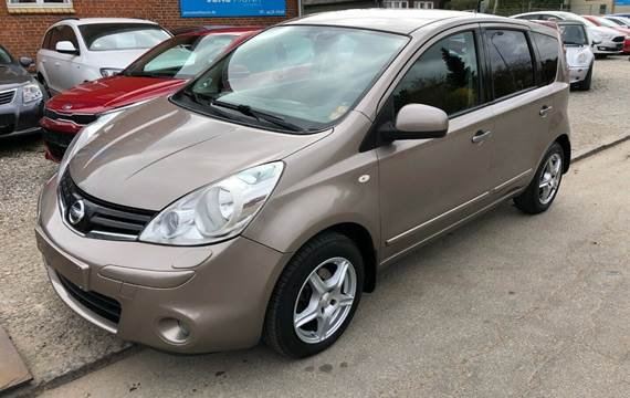 Nissan Note 1,5 dCi 90 Acenta Connect