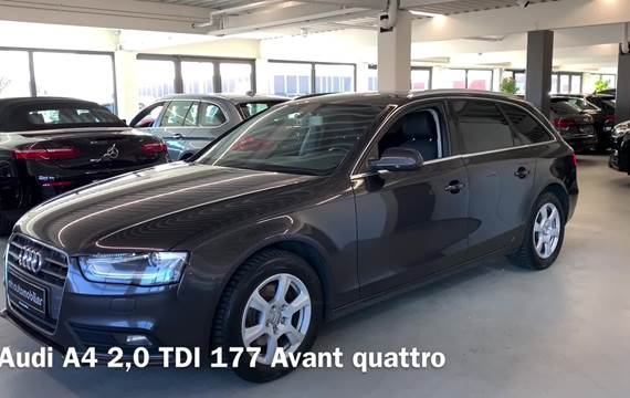 Audi A4 2,0 TDi 177 Avant quattro