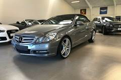 Mercedes E350 3,5 CGi Avantgarde Cab. aut. BE