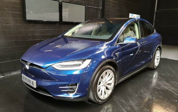 Tesla Model X P90D Ludicrous Signature Edit.