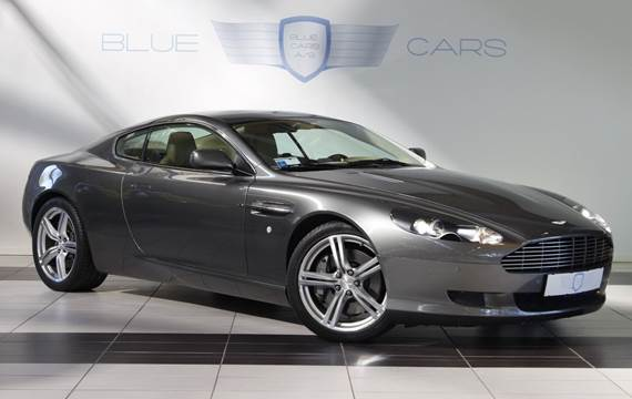 Aston Martin DB9 6,0 Coupé aut.