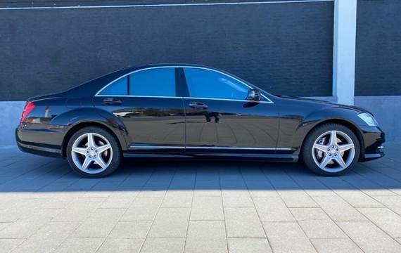 Mercedes S500 4,7 aut. 4-M BE lang