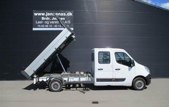 Renault Master 2,3 T35  DCI 3- VEJS TIP RWD  DobKab