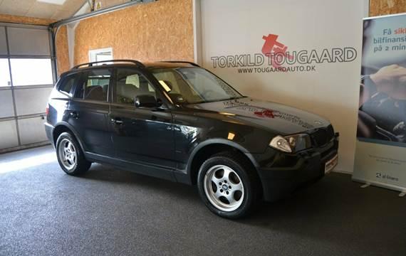 BMW X3 3,0 D Steptr.
