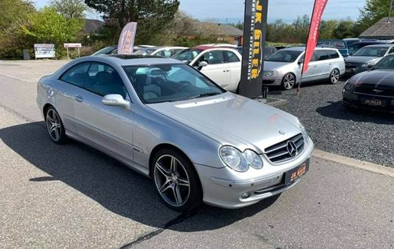 Mercedes CLK200 1,8 Komp. Elegance