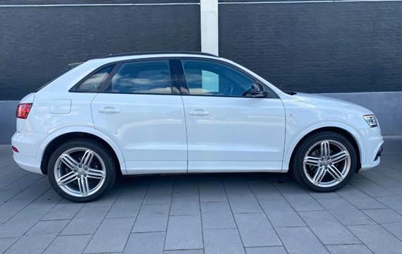 Audi Q3 2,0 TDi 140 S-line quattro S-tr.