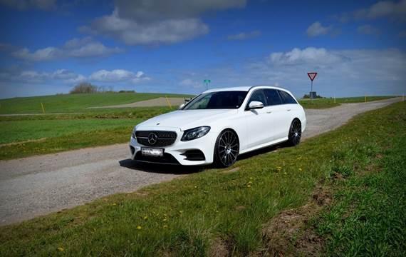 Mercedes E220 2,0 BlueTEC AMG Line stc. aut.