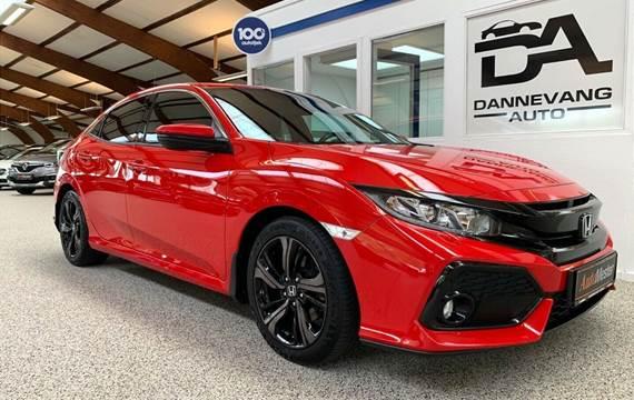 Honda Civic 1,6 i-DTEC Elegance aut.