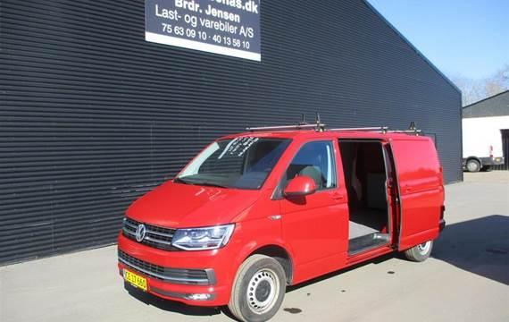 VW Transporter 2,0 Lang  TDI BMT DSG  Van 7g Aut.