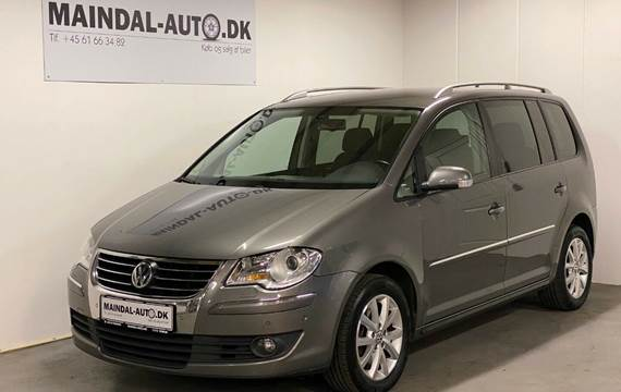 VW Touran 2,0 TDi 170 Highline DSG 7prs