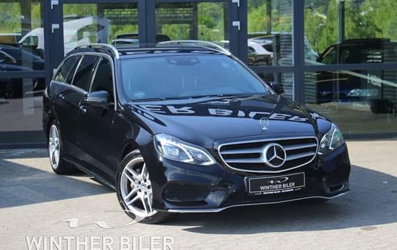 Mercedes E350 3,0 BlueTEC AMG Line stc. aut.