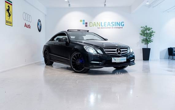 Mercedes E350 3,0 CDi AMG Style Coupé aut. BE