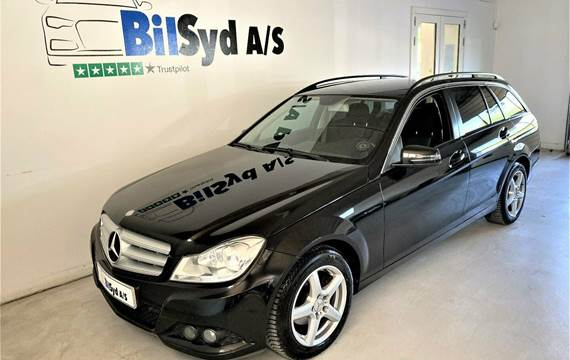 Mercedes C200 2,2 CDi stc. aut. BE