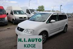 VW Touran 2,0 TDi 140 Trendline Van